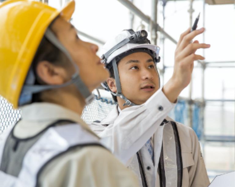 第三者機関が施工の工程をしっかりと管理。