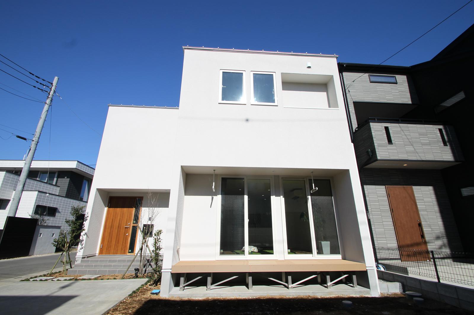 「シンプルでたくましい家」